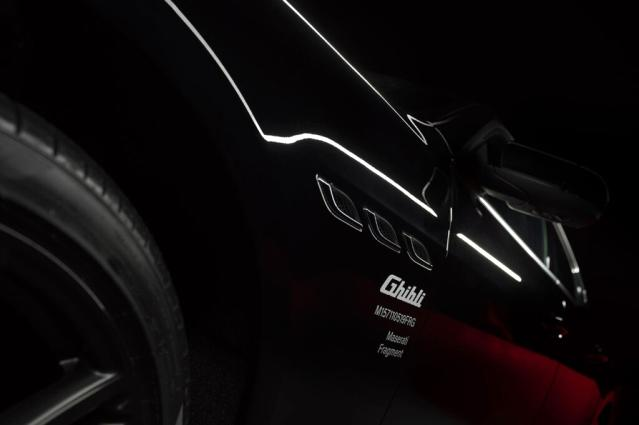 Maserati Ghibli'ye müzik dokunuşu
